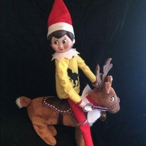 Sweaters - Reindeer elf saddle